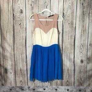Ark & Co. Colorblock Sleeveless Dress